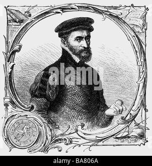 Gresham, Thomas Sir, 1519 - 1579, British court advisor of the Royal family, merchant, financier and founder of - Stock Photo