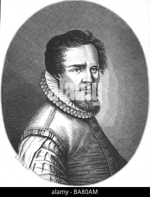 Senfl, Ludwig, circa 1486 - 1552/1553, Swiss composer, portrait, wood engraving by Richard Bong, 19th century, , - Stock Photo