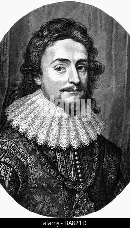 Frederick V, 16.8.1596 - 21.9.1632, Elector Palatinate 19.9.1610 - 23.2.1623 and King of Bohemia 25.10.1619 - 9.11.1620, - Stock Photo
