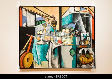 Still life after jan davidsz by Henri Matisse 1915 MOMA Museum of Modern Art Manhattan New York United States of - Stock Photo