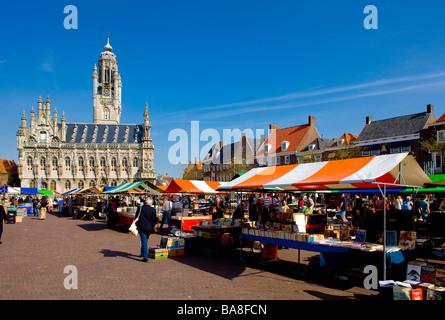 Middelburg Zeeland Netherlands - Stock Photo
