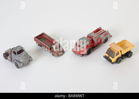 Worn out toys of a bygone era - Stock Photo