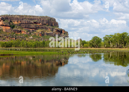 Nourlangie, Kakadu National Park, Northern Territory, AUSTRALIA - Stock Photo