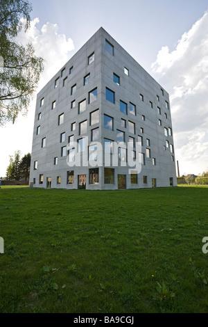 Zollverein School building, Essen - Stock Photo