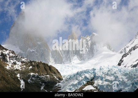 Cerro Chaltn Patagonia Argentina - Stock Photo