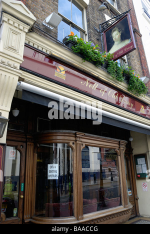The Nell of Old Drury pub in Drury Lane Covent Garden London - Stock Photo