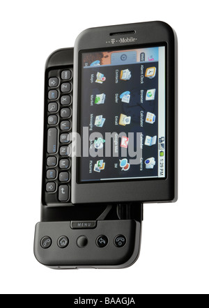 Google T Mobile G1 android phone - Stock Photo