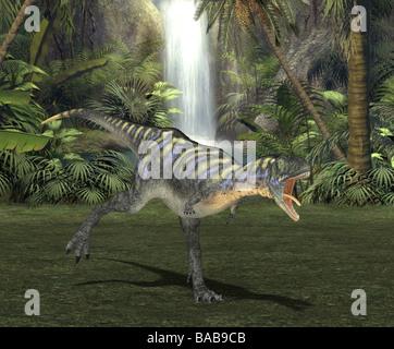 dinosaur aucasaurus - Stock Photo