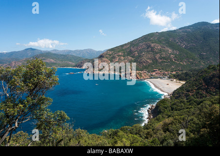 Porto, Gulf of Porto, Corsica, France - Stock Photo