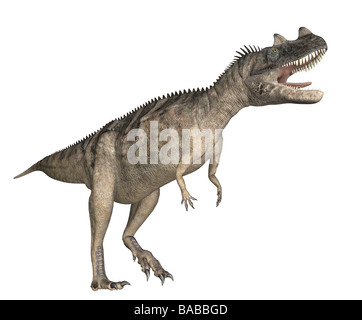 dinosaur Ceratosaurus - Stock Photo