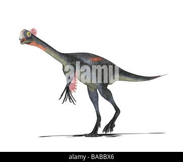 dinosaur Gigantoraptor - Stock Photo