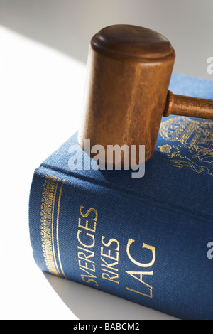 The Swedish statue book close-up - Stock Photo