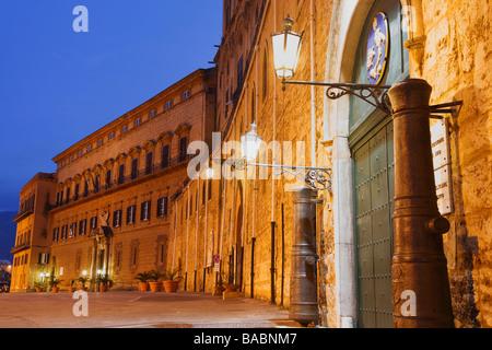Pallazzo dei Normanni, Palazzo Reale, Royal Palace, Palermo, Sicily, Italy - Stock Photo