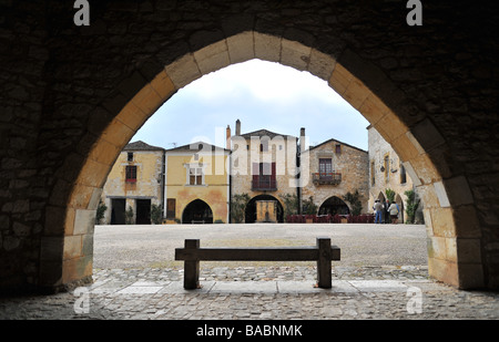 montpazier France - Stock Photo