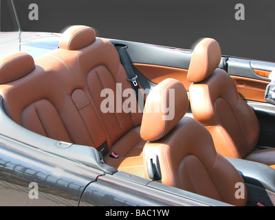 seat covers, tops and upholstery - Stock Photo