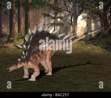 dinosaur Kentrosaurus - Stock Photo