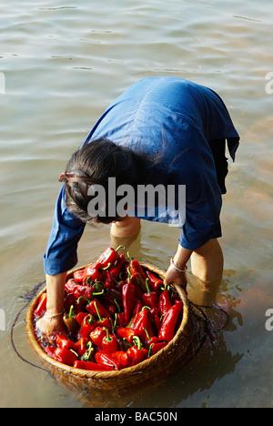 China, Guizhou Province, Rongjiang, Dong ethnic group - Stock Photo