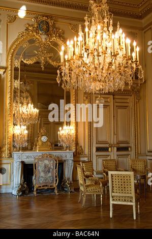 France, Paris, Quai d'Orsay, the Foreign Ministry, Salon de Beauvais (Beauvais Lounge) - Stock Photo