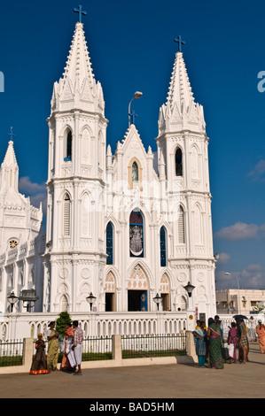 Shrine Basilica of Our Lady of Good Health Velankanni Tamil Nadu India