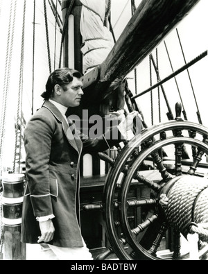 MUTINY ON THE BOUNTY  1935 MGM film with Clark Gable as  Fletcher Christian - Stock Photo