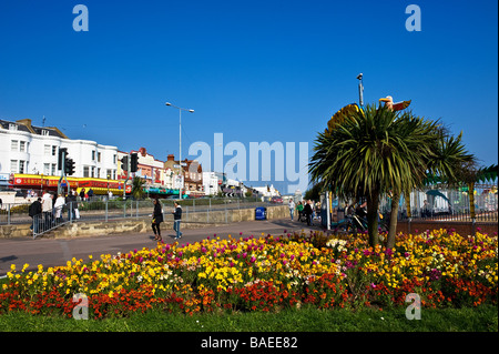The seafront at Southend on Sea in Essex.  Photo by Gordon Scammell - Stock Photo