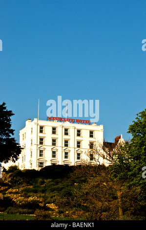 The Westcliff Hotel at Southend on Sea in Essex.  Photo by Gordon Scammell - Stock Photo