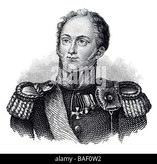 Alexander I of Russia - Stock Photo