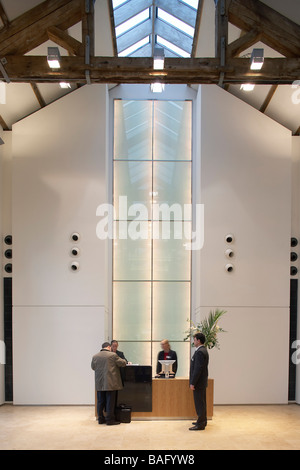 Ec Harris, London, United Kingdom, Swanke Hayden Connell, Ec harris reception. - Stock Photo