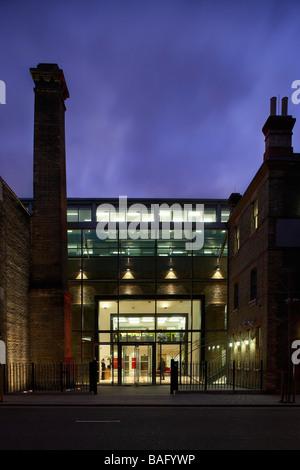 Ec Harris, London, United Kingdom, Swanke Hayden Connell, Ec harris twilight exterior. - Stock Photo