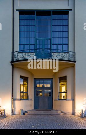 BAUHAUS UNIVERSITY, HENRY VAN DE VELDE, WEIMAR, GERMANY - Stock Photo