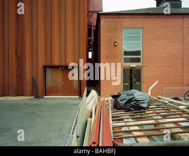 Rsc Courtyard Theatre, Stratford Upon Avon, United Kingdom, Ian Ritchie Architects, Rsc courtyard theatre rear  - Stock Photo