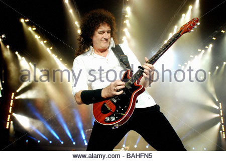 brian may'milan 28-09-2008 'queen in concert'photo barbaglia/markanews - Stock Photo