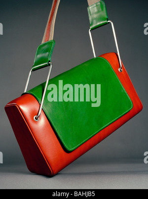 Luxury Designer Women's Fashion Accessory Leather Shoulder Bag - Stock Photo