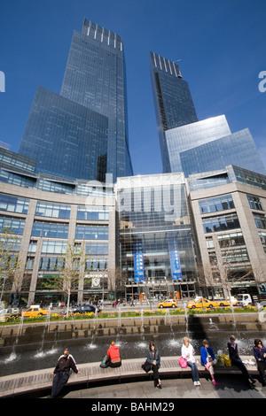Time Warner Center New York City - Stock Photo
