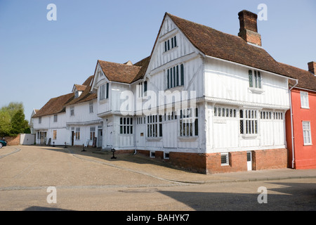 The Guildhall Lavenham Suffolk England - Stock Photo