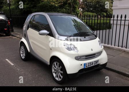 Smart car Chelsea London UK - Stock Photo