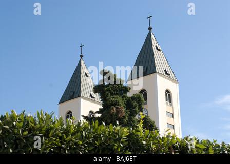 St James Church in Medjugorje Bosnien Eastern Europe - Stock Photo