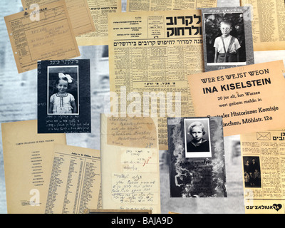 Israel Jerusalem Yad Vashem,Holocaust victims - Stock Photo