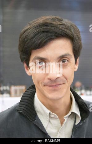 Francois Combard owner domaine st andre de figuiere provence france - Stock Photo