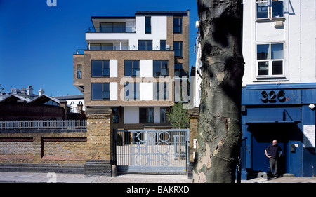 PORTOBELLO DOCK - PORTOBELLO LOFTS, STIFF AND TREVILLION ARCHITECTS, LONDON, UNITED KINGDOM - Stock Photo