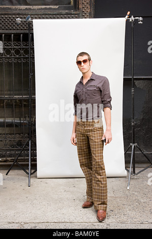 Stylish young man - Stock Photo