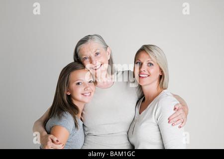Female family members - Stock Photo