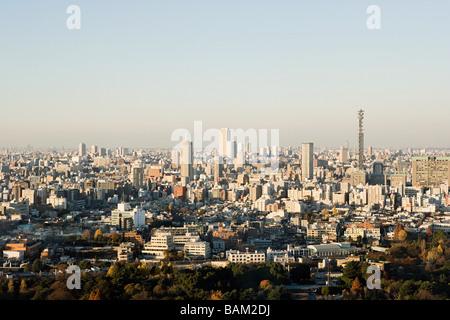 Cityscape of tokyo - Stock Photo