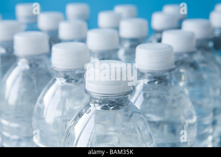 Bottles of mineral water - Stock Photo