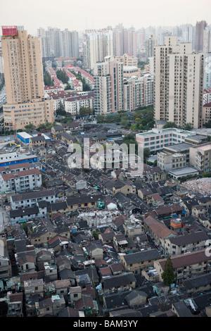 Shanghai cityscape - Stock Photo