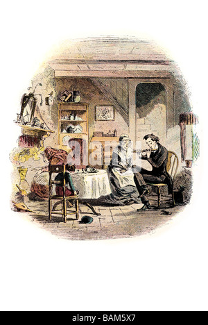 my musical breakfast David Copperfield or The Personal History, Adventures, Experience and Observation charles dickens - Stock Photo