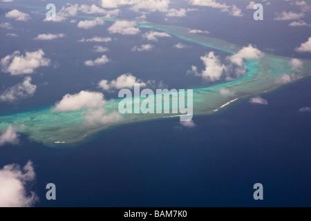 Barrier Reef of Veti Levu Island Fiji - Stock Photo