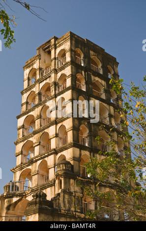 Royal Palace Watch tower Thanjavur Tamil Nadu India - Stock Photo