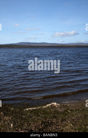 lough fea on the border of county tyrone and county derry londonderry in northern ireland - Stock Photo