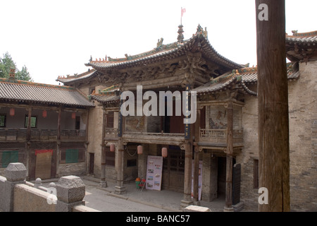 Guoyu Village architecture Ming Qing dynasty Yangcheng County city of JinCheng Shanxi Province china Asia - Stock Photo